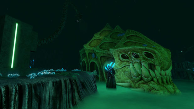 subnautica infected höhle