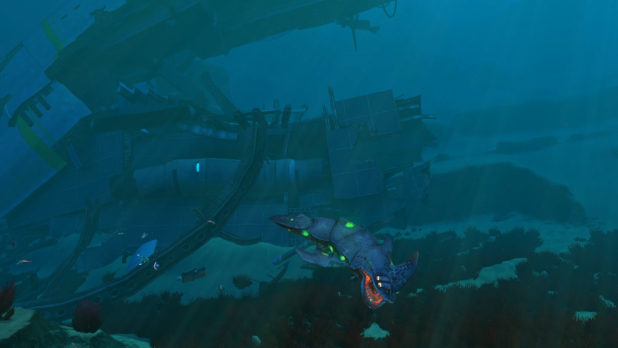subnautica infected forschung