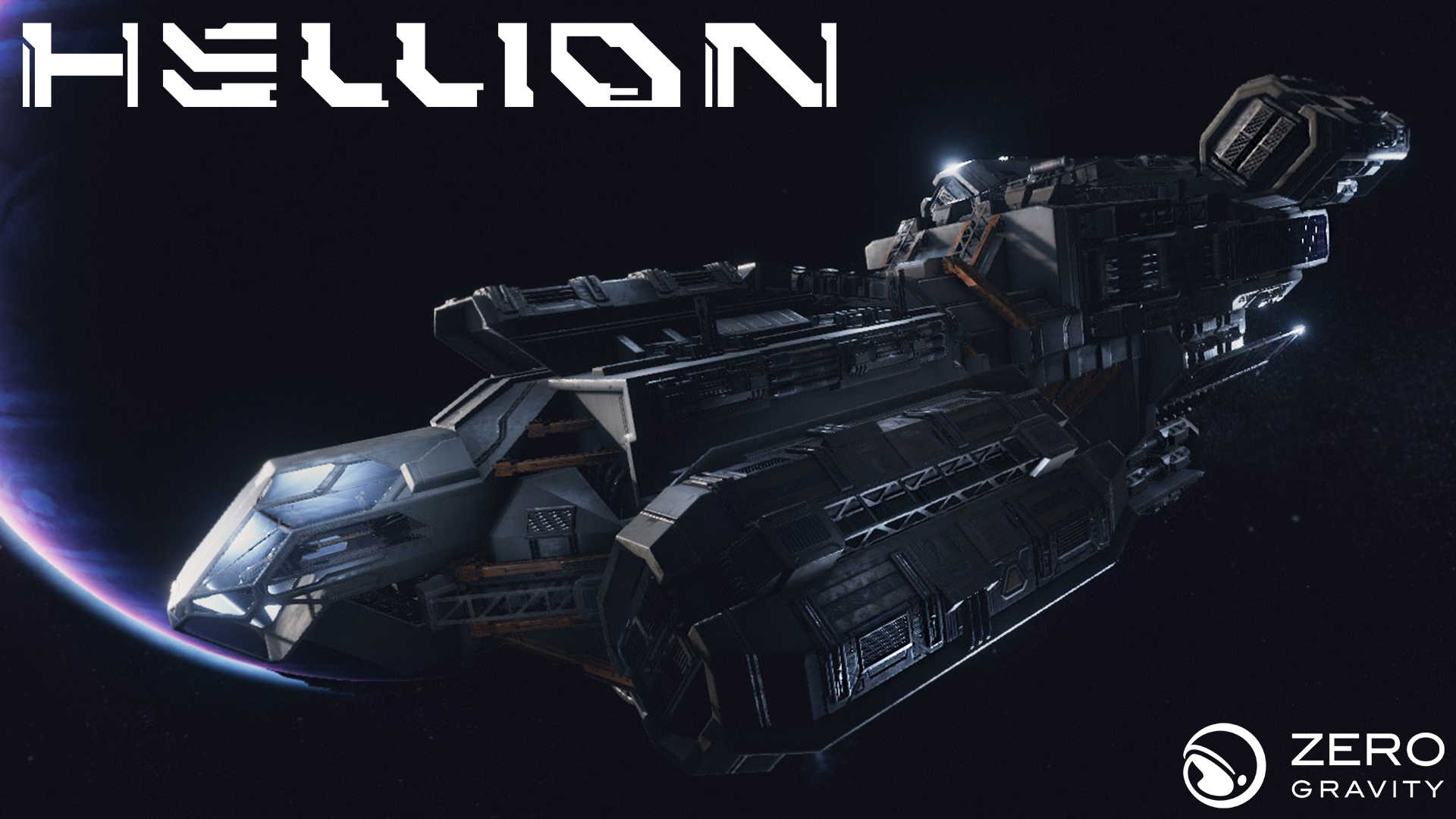 spaceship in Hellion