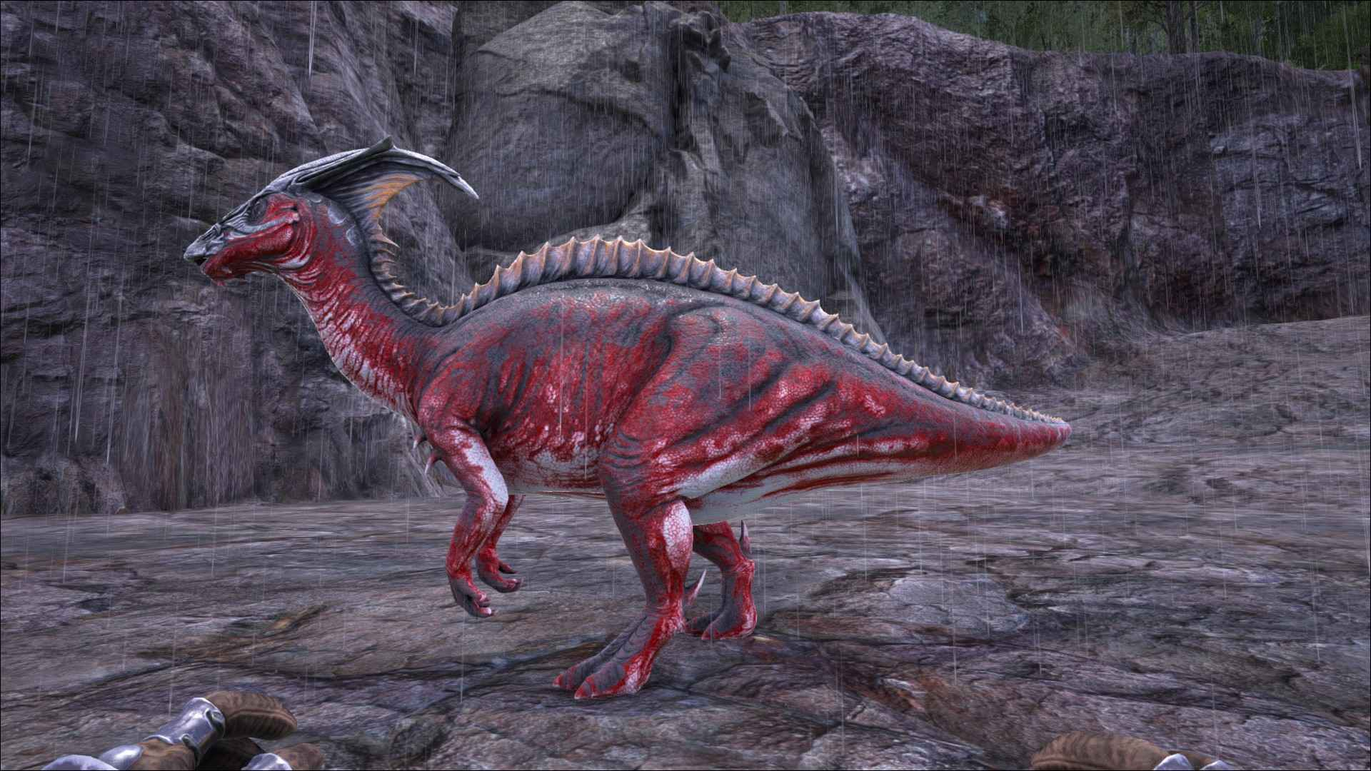 Ark Survival Evolved Dino Dossier Parasaur Taming Breeding Information includes spawn code, blueprint path, gfi code, creature id, and ark guide. ark survival evolved dino dossier