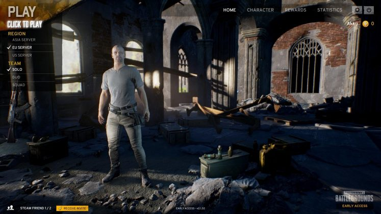 PlayerUnknown's Battlegrounds gameplay waffen loot