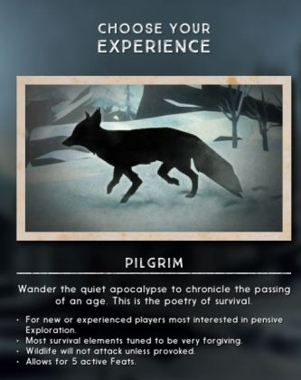 The Long Dark novice.