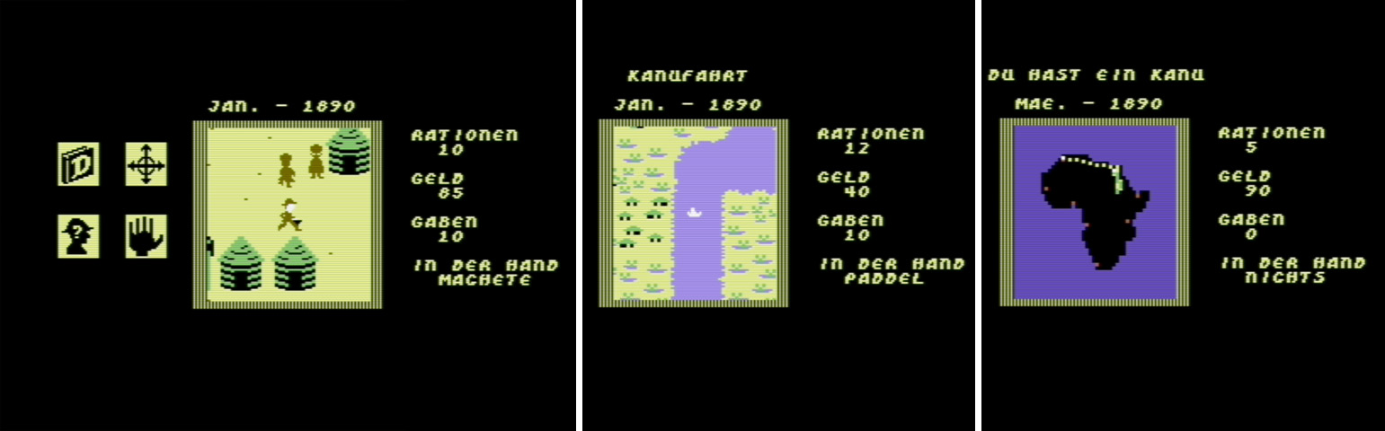 Survival-Games - Heart of Africa - C64