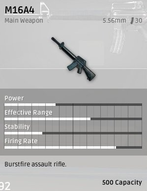 PUBG playerunknown's battlegrounds waffen rifles sturmgewehre guide stats m16a4