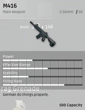 PUBG playerunknown battlegrounds waffen rifles sturmgewehre guide stats m416