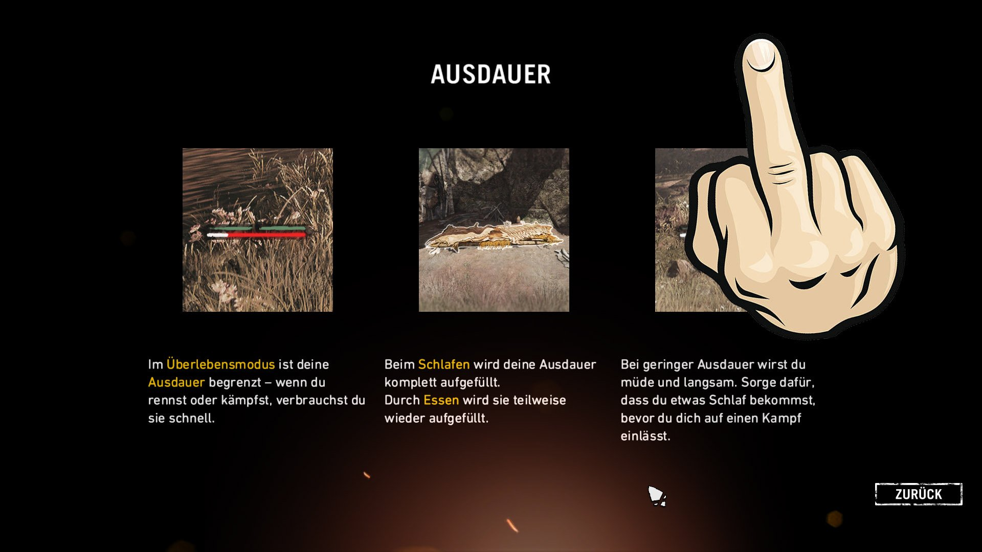 Far Cry: Primal Survivor - Ausdauer