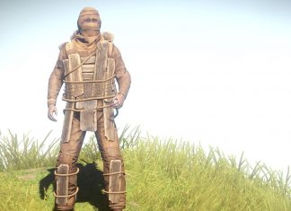 Wooden armour man