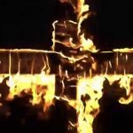 Feature Burning cross
