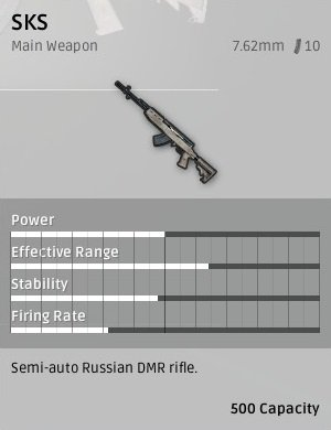 SKS DMR PU Battlegrounds