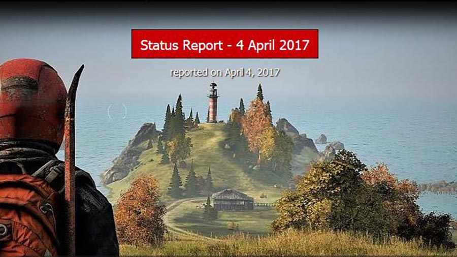 DayZ-Statusreport vom 04. April 2017