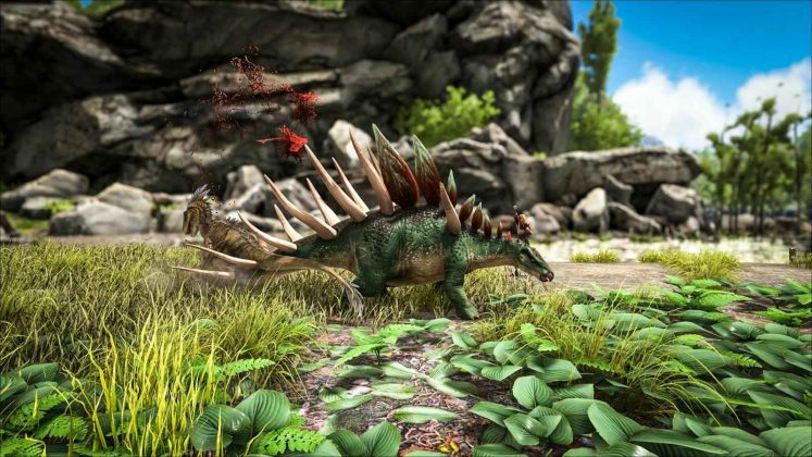 ARK Patch 257 Dino Kentrosaurus attack