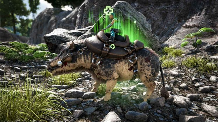 ARK Patch 257 Dino healer