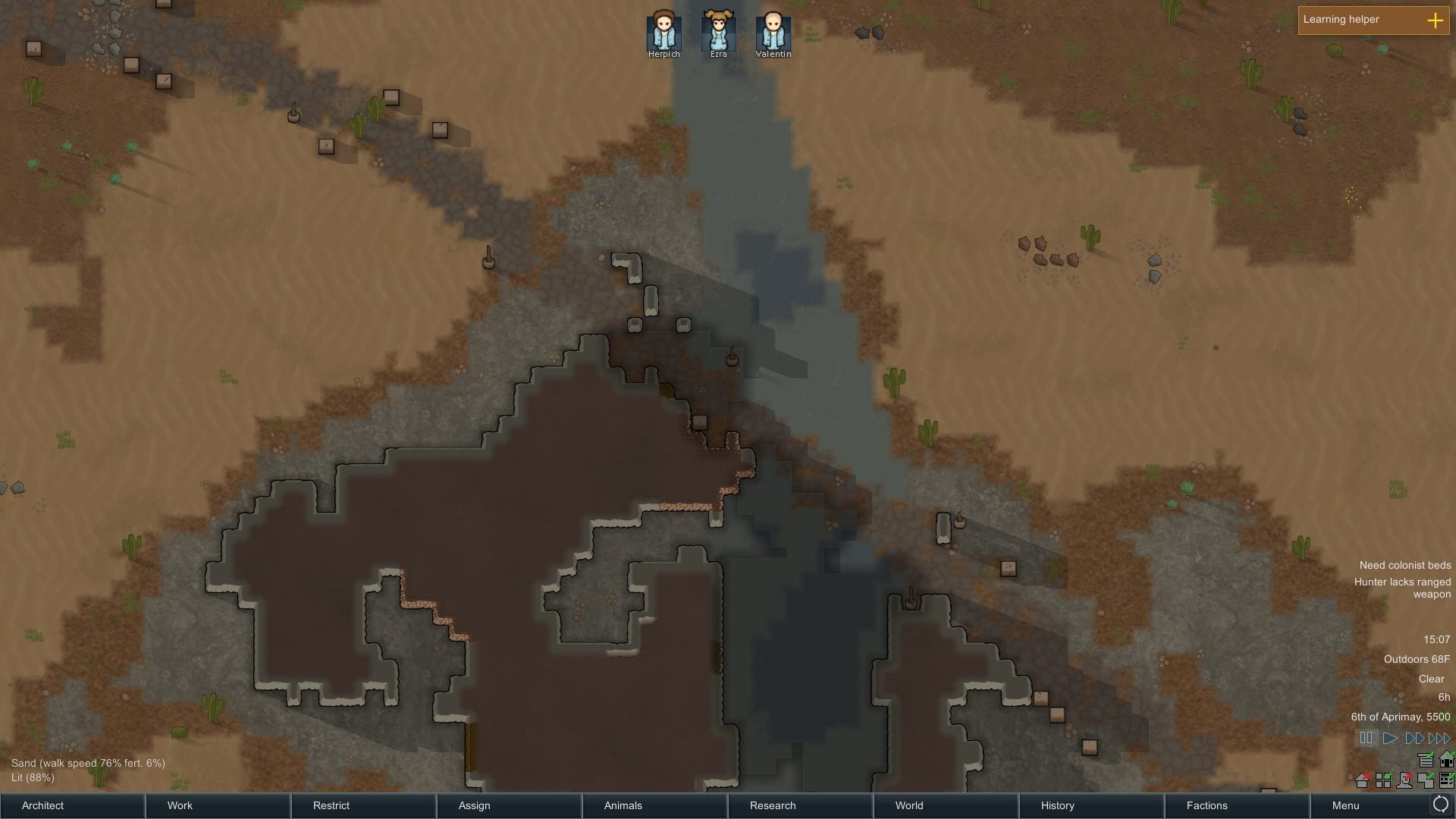 Rimworld alpha 17 on the road released survivethis rimworld river road and ancient artifacts gumiabroncs Gallery