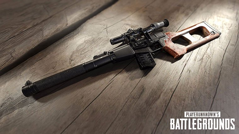 PlayerUnknown's Battlegrounds VSS Sniper Rifle pubg update