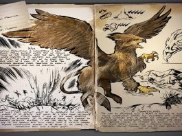 ARK Survival Evolved Griffin Dino Dossier