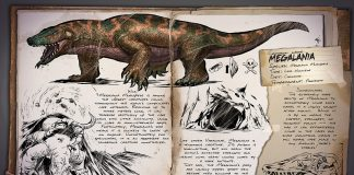 ARK Survival Evolved Megalania Dossier