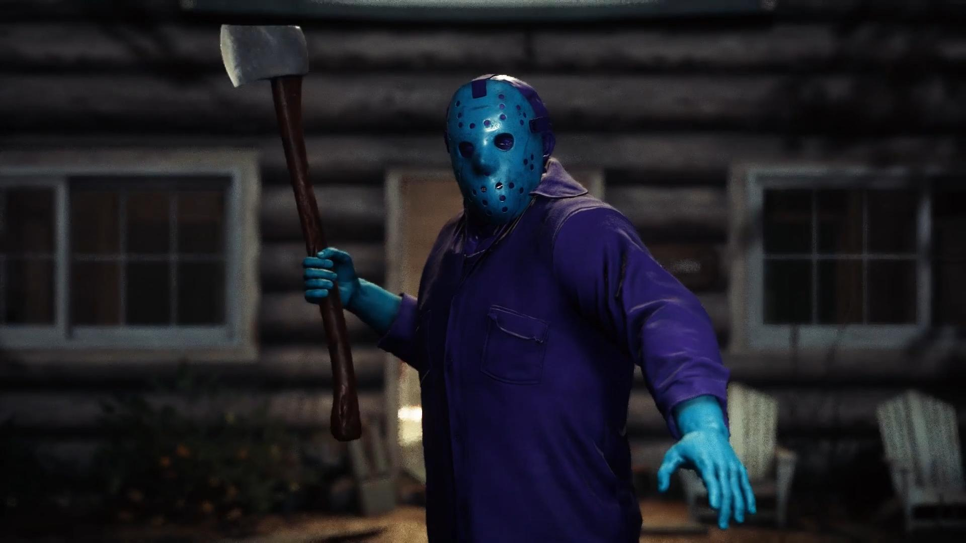 Friday the 13th retro jason axe