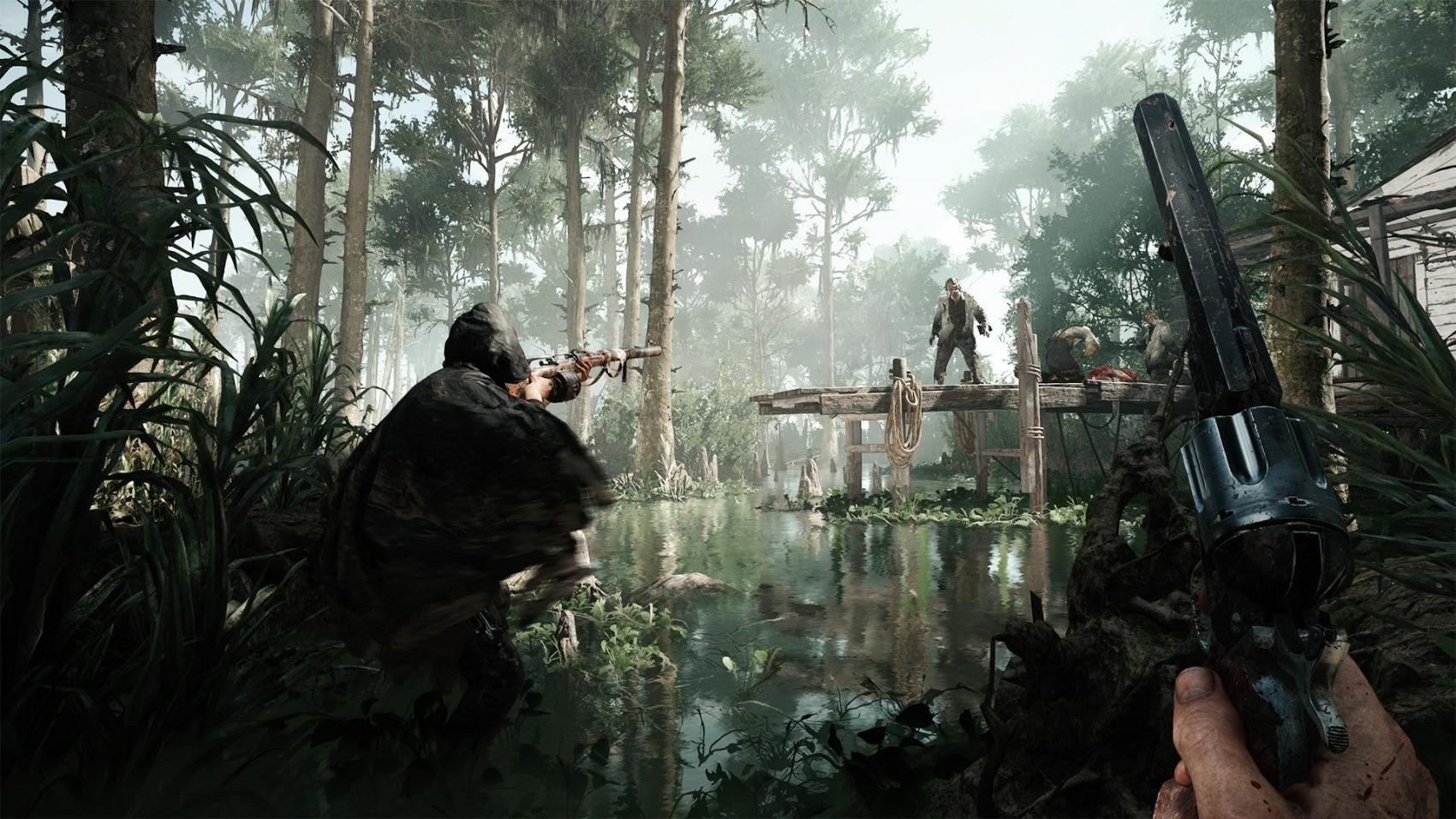 hunt: showdown trailer e3 2017 crytek gameplay release