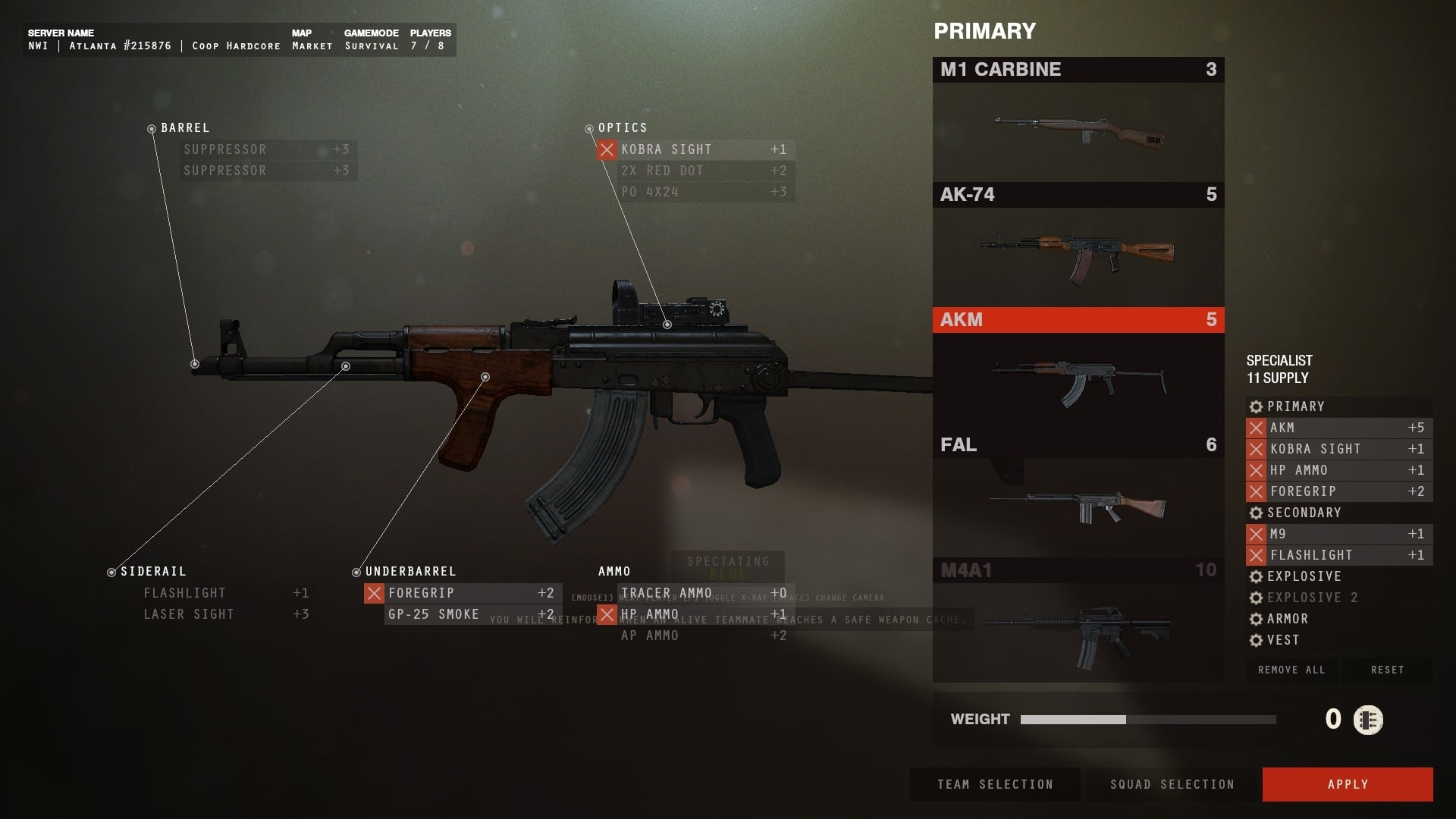 Insurgency Survival Mode AKM