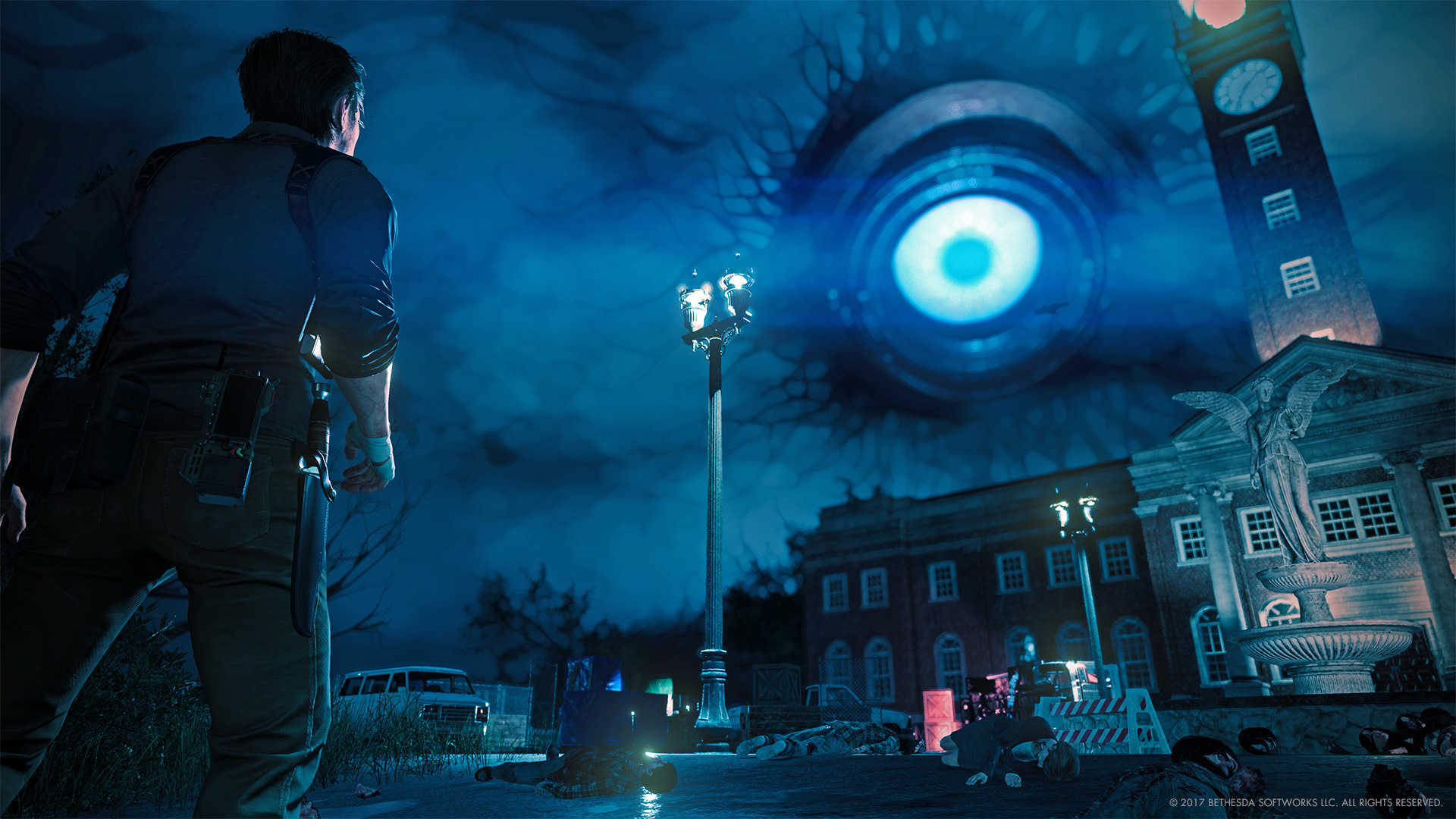 Evil within images