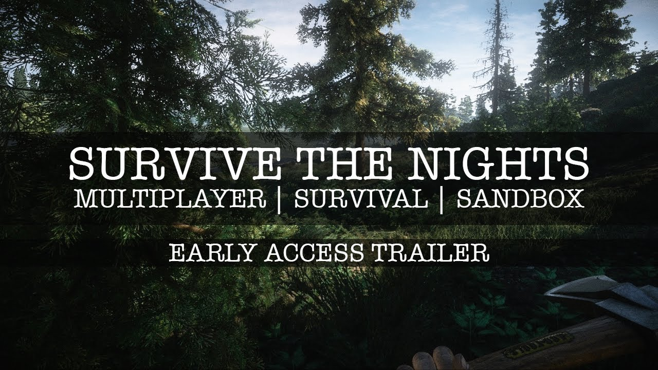 Survive the nights gameplay alpha zombie survival