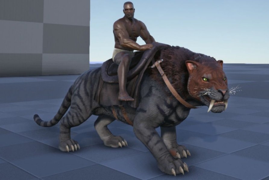Sabertooth ARK Survival Evolved