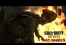 Call of Duty World War 2 - Nazi Zombies
