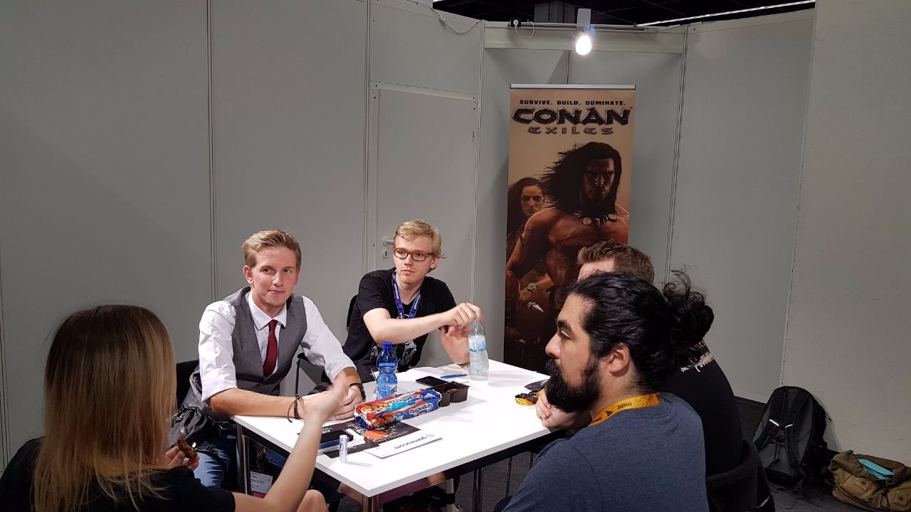 Survivethis Conan Exiles Interview