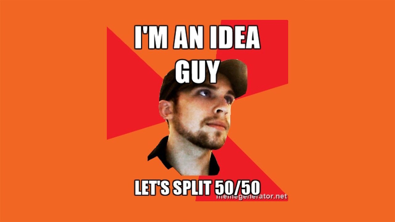 I'm an idea guy