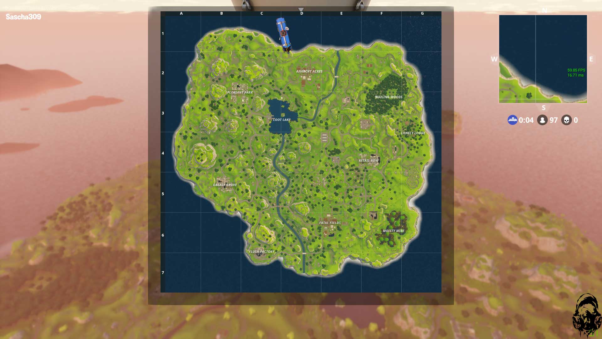 Fortnite-Battle-Royale-Map