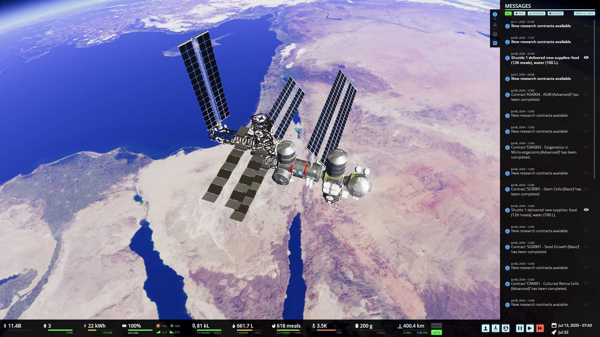 Stable Orbit Station