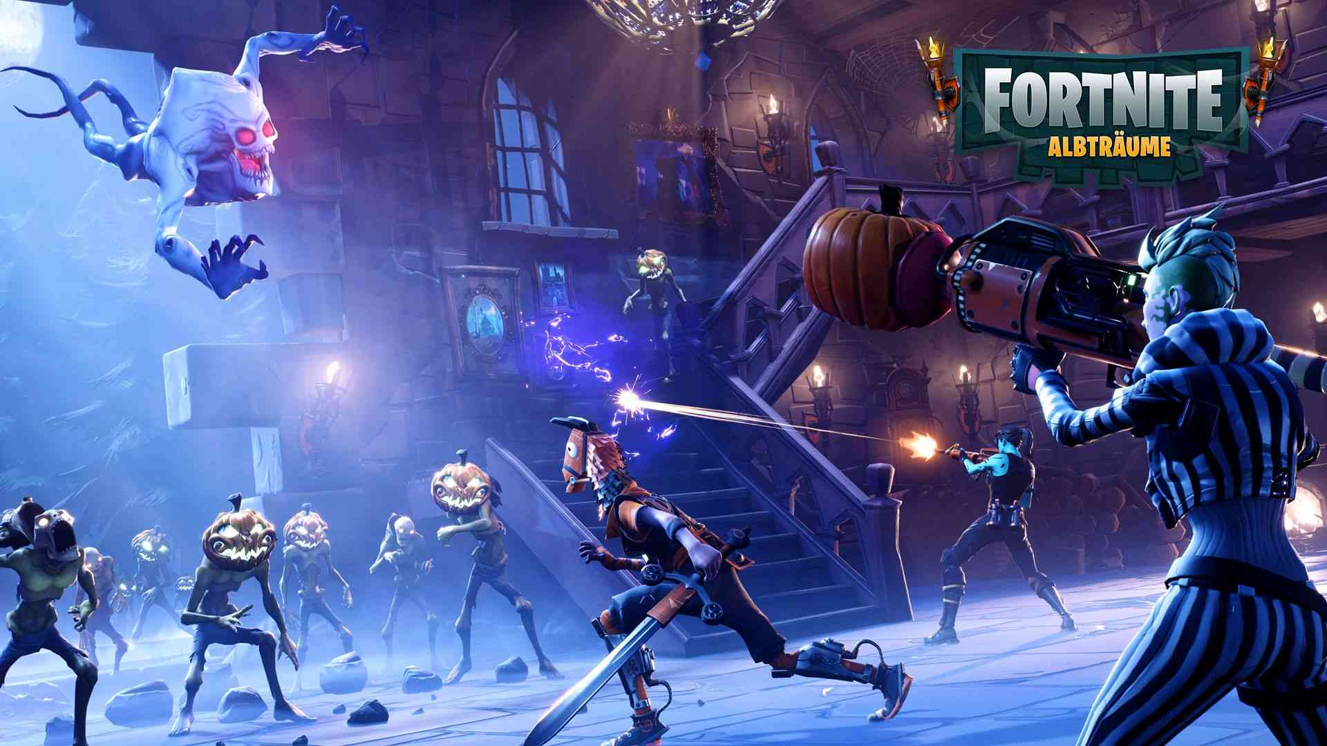 "fortnite - halloween-event ""fortnitmares"" bringt neue map und skins"