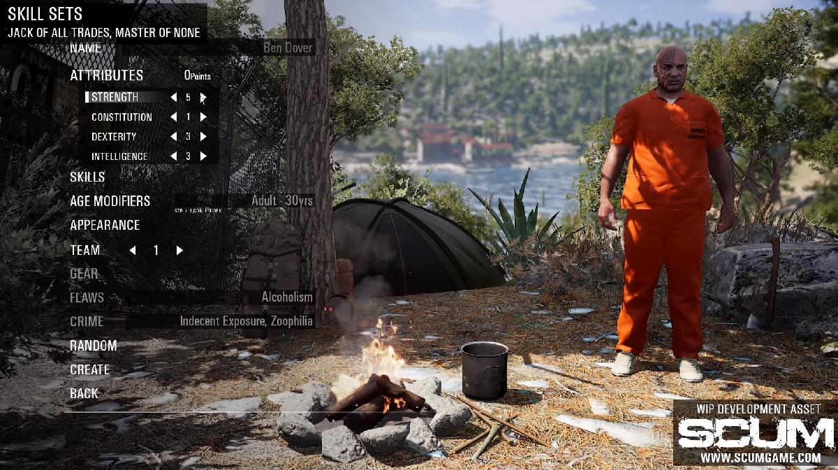 SCUM - Q&A Video Shows Awareness and Tactics - Survivethis
