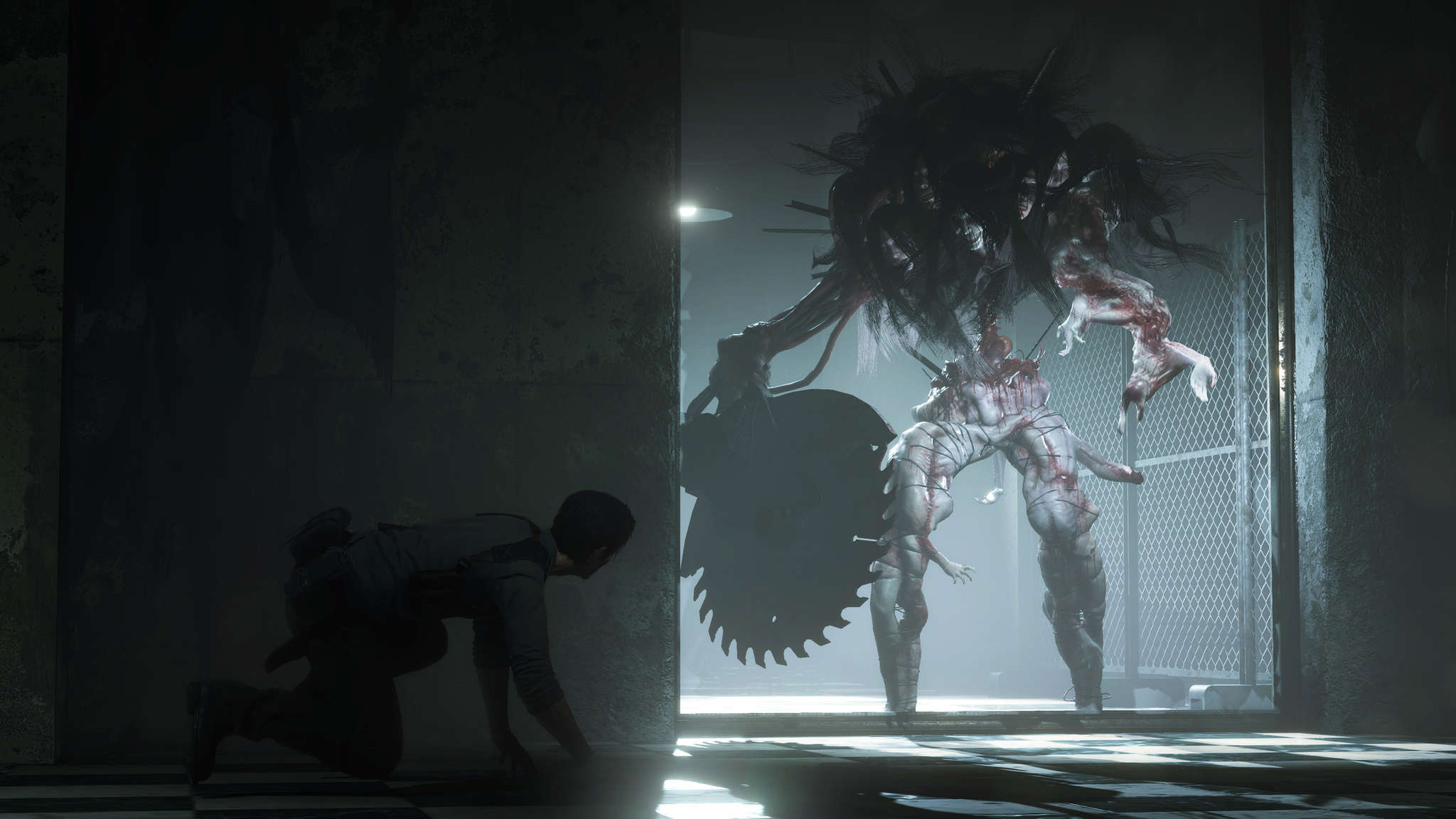 The Evil Within 2 Creepy Monster