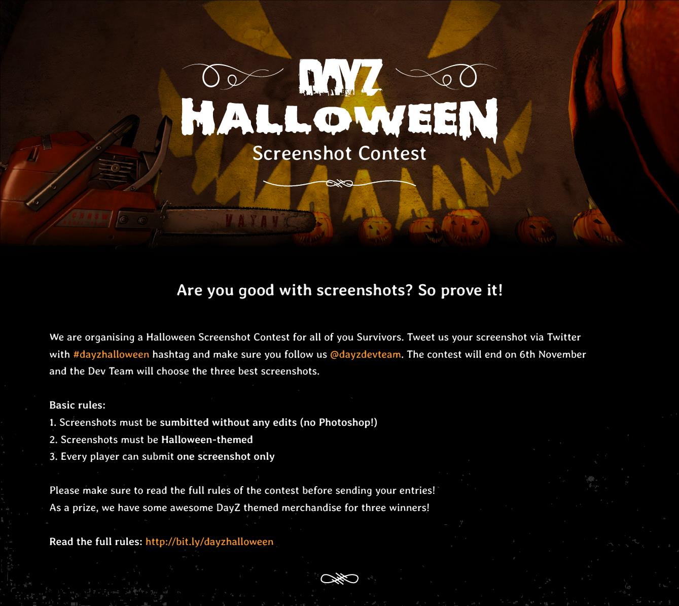 DayZ Halloween Screenshot-Event