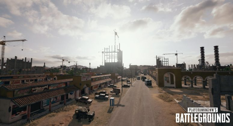 PUBG Wüsten-Location