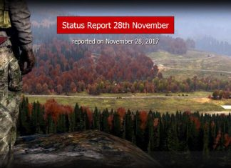 DayZ-Statusreport vom 28. November