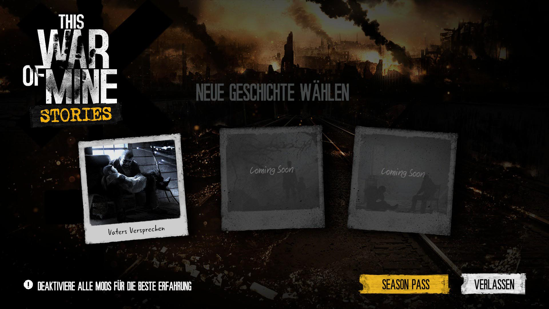 This War of Mine Story DLC