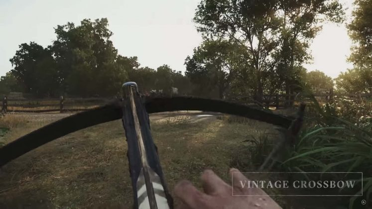 two-handed crossbow