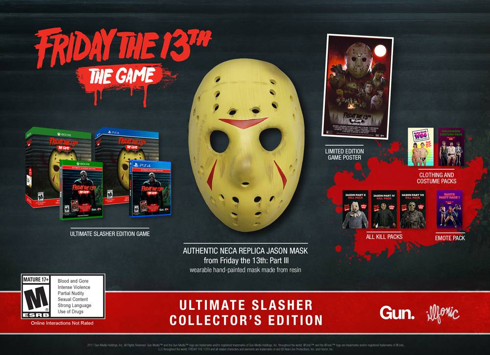 Friday the 13th - Inhalt Collectors Edition