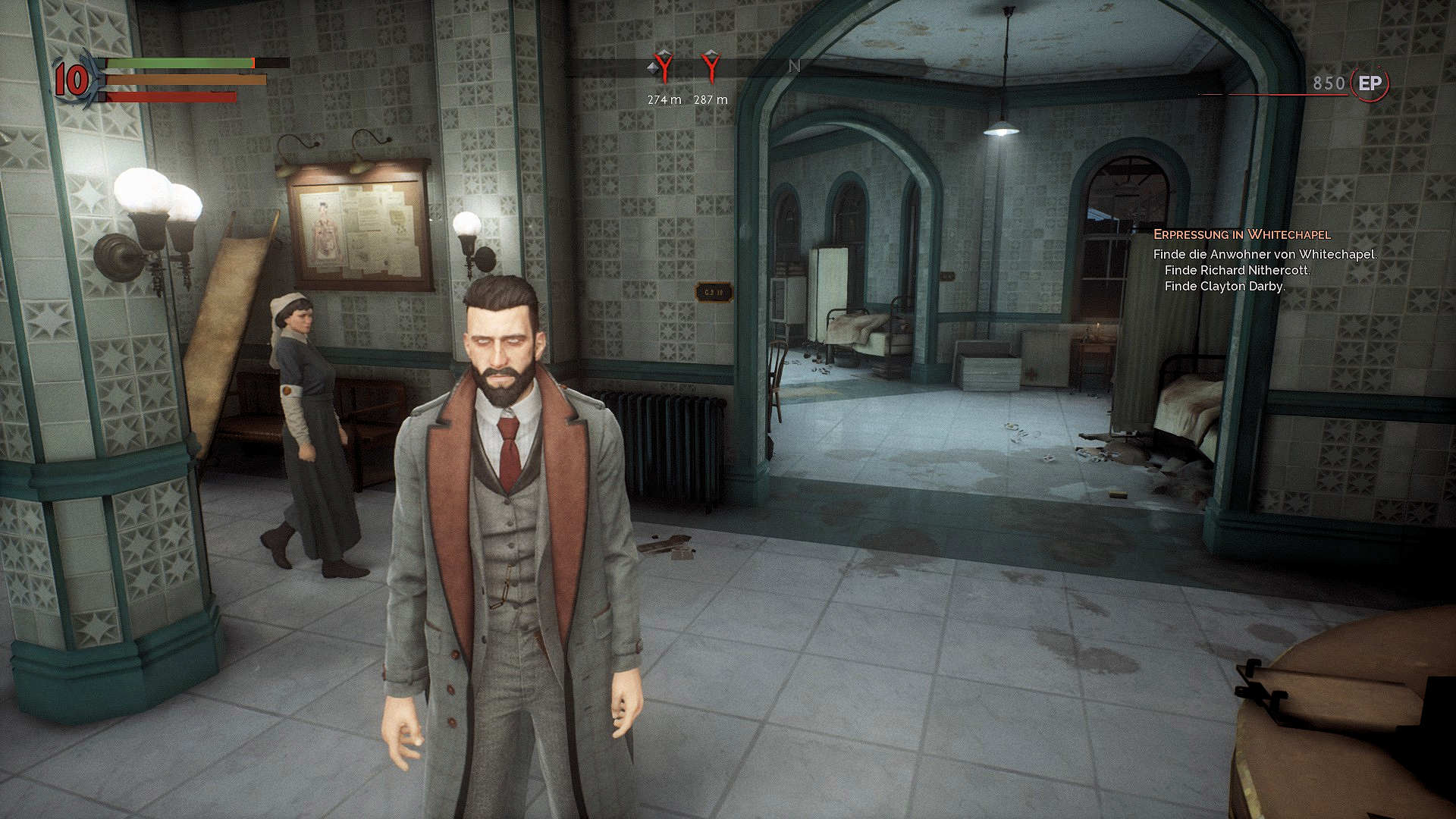 Vampyr Review - Pembroke Hospital