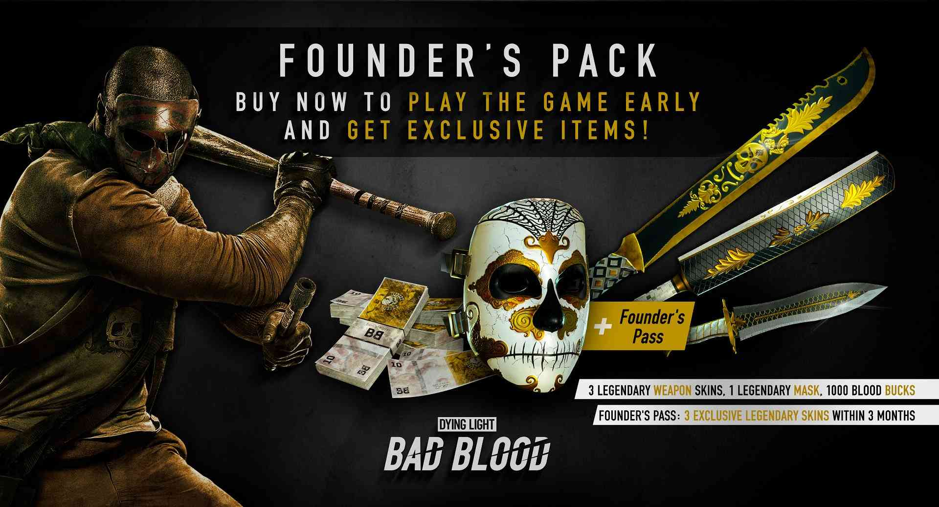 Dying Light Founders Paket