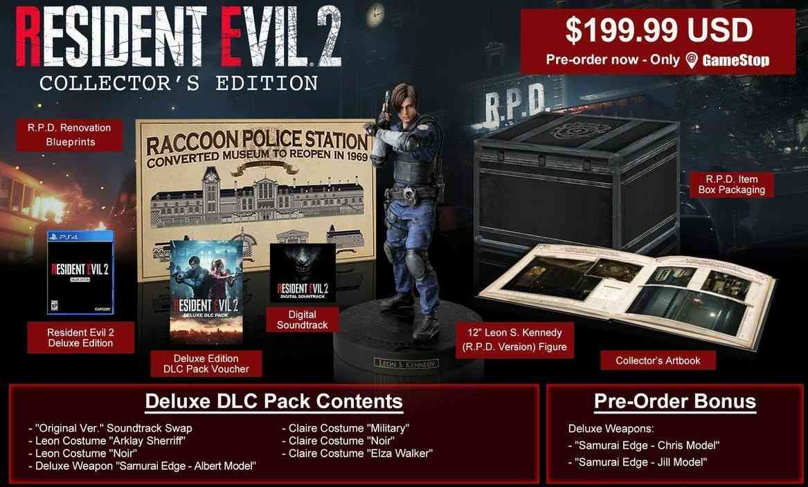 ResidentEvil2Remake - Collector's Edition