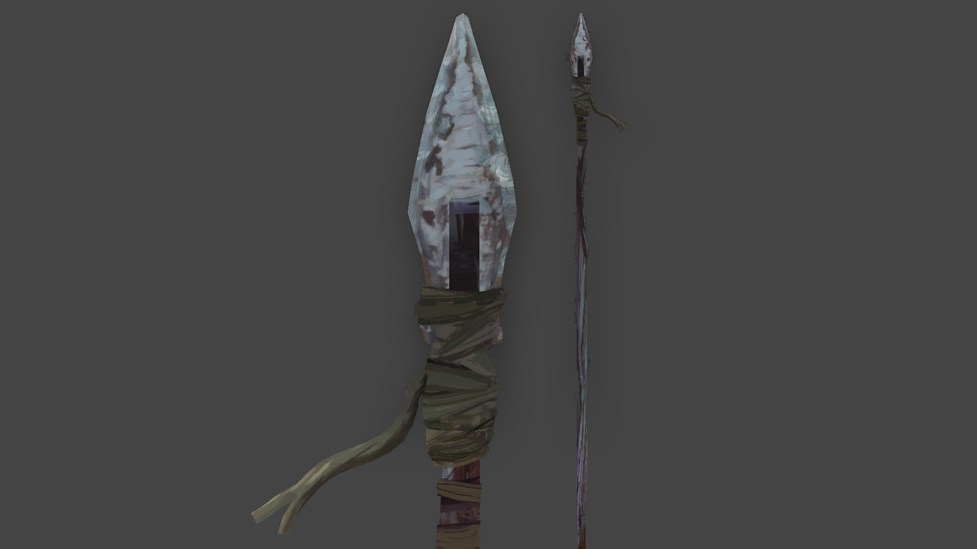 Raphael: The Bear Spear will be introduced in Episode Threen and then also be implemented into Survival mode.
