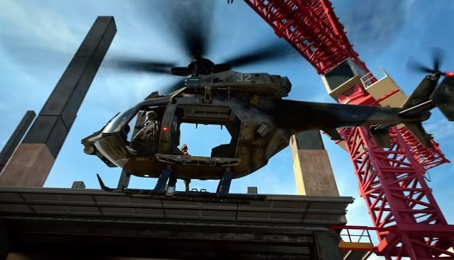 blackout helicopter