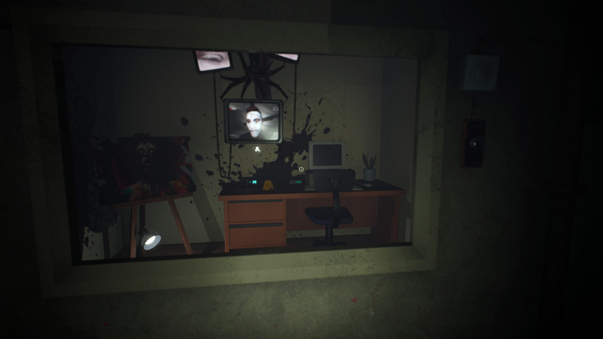 Infliction Review - Survival Horror Game - Museum