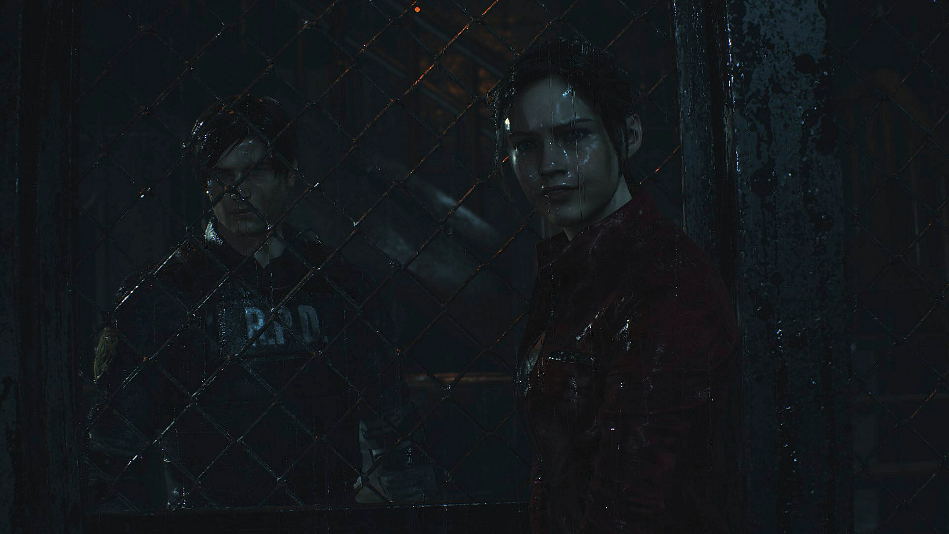 Resident Evil 2 Remake Test - Leon & Claire