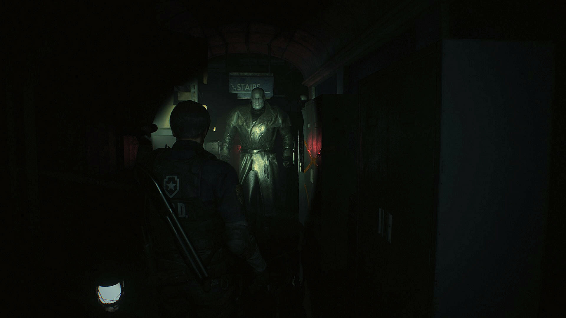 Resident Evil 2 Remake Test - Mr. X