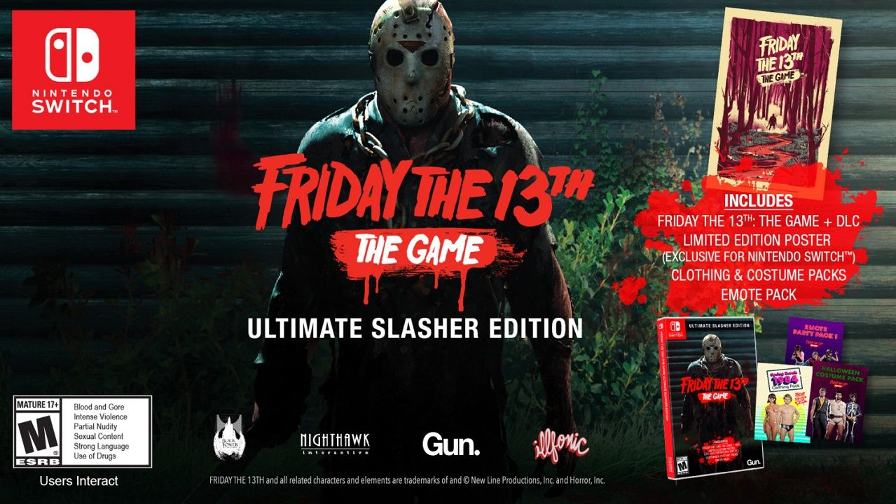 Friday the 13th Nintendo Switch
