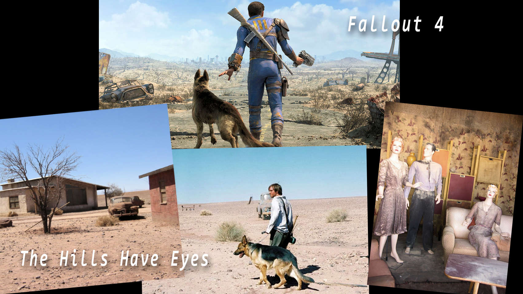 Fallout 4 vs The Hills Have Eyes